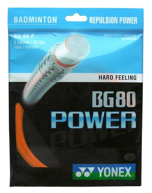Yonex BG 80 Power Badminton String - Orange - Authorized ...